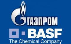 Газпром и Basf