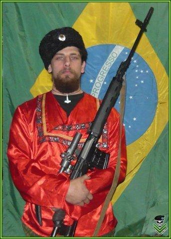 Бразильский доброволец в рядах ополчения Рафаэль Фернандес Маркес Лусваргхи