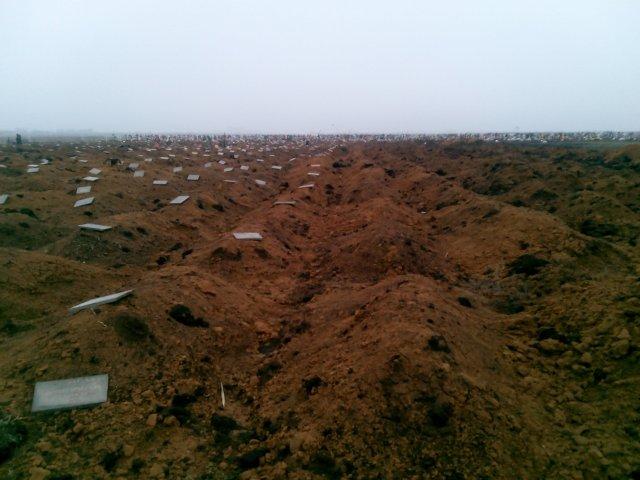 """Западное одесское кладбище: """"хирургические отходы"""" призывников ВСУ"""