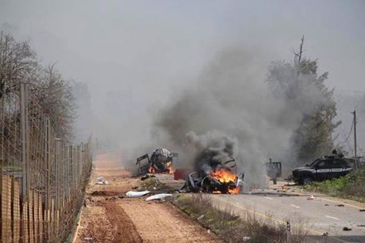 Некоторые комментарии к сегодняшнему обмену ударами на ливано-израильской границе