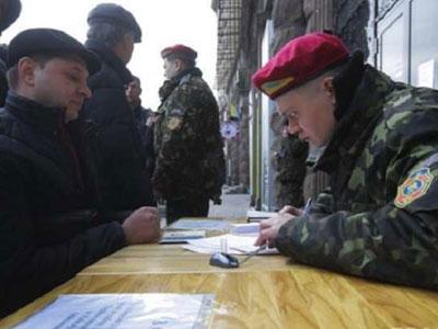 Мобилизация на Украине: в Киеве повестки вручает «руководящая» толпа
