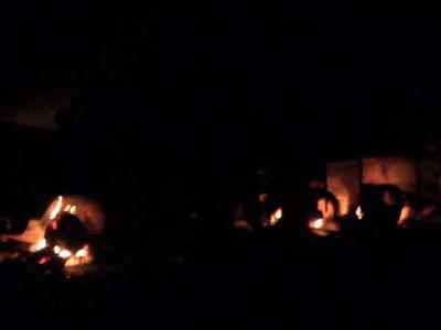 Ночные взрывы в Полтаве