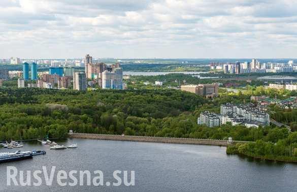 Обезвреженную спецслужбами взрывчатку на Химкинской плотине могли заложить диверсанты ВСУ ( ВИДЕО)