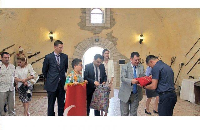 Турция вручила приднестровью часть общего исторического наследия