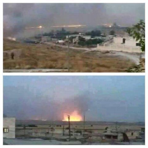Сводка событий в Сирии за 25 июня 2015 года