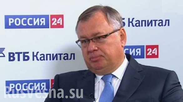 ВТБ не может идти в Крым