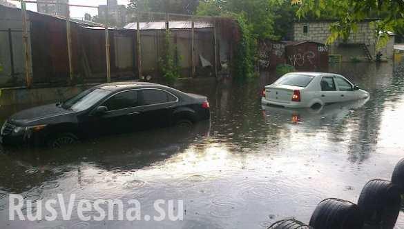 ГосЧС: дождь и порывы ветра обесточили 77 населенных пунктов на Украине