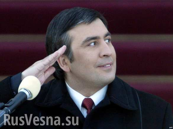 Михаил Саакашвили предложил распустить на Украине милицию и таможню