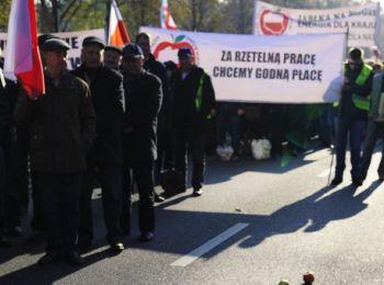 Немецкие фермеры протестуют против антироссийских санкций