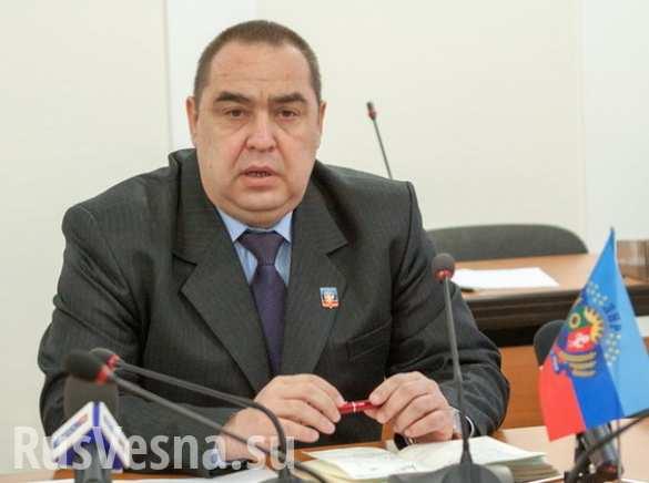 Плотницкий: Порошенко врёт, говоря о согласовании проекта конституции с представителями Донбасса