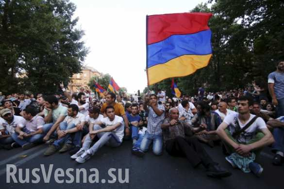 Вашингтон готов бороться с Россией на Южном Кавказе до последнего армянского демонстранта