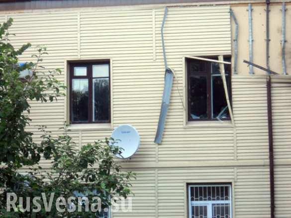 На Полтавщине из гранатомета обстреляли здание налоговой инспекции (ФОТО)