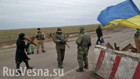 Блокпост-базар: украинские продукты и лекарства будут продавать на пунктах пропуска