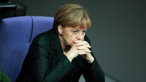Меркель прогнозирует  тяжелые времена