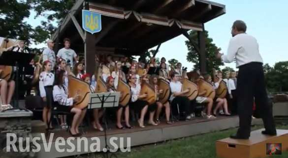 Несколько десятков юных бандуристов исполнили песню «Укроп — это ты, укроп — это я!» (ВИДЕО)