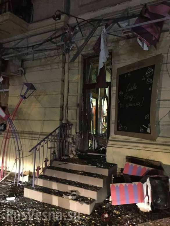 В центре Одессы подорвали кафе (ФОТО)   Русская весна