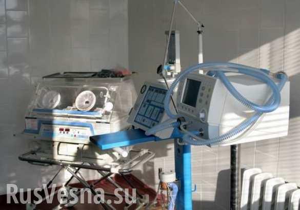 Больницы ЛНР получили от РФ аппараты искусственного дыхания