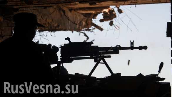 Украинские войска за сутки 35 раз обстреляли территорию ДНР