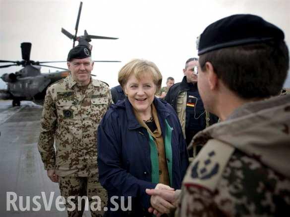 Бундесвер направляется на военные учения на Украине