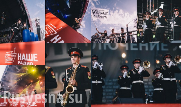 Фестиваль «Нашествие»: русский рок на фоне танков и бронемашин (ВИДЕО)