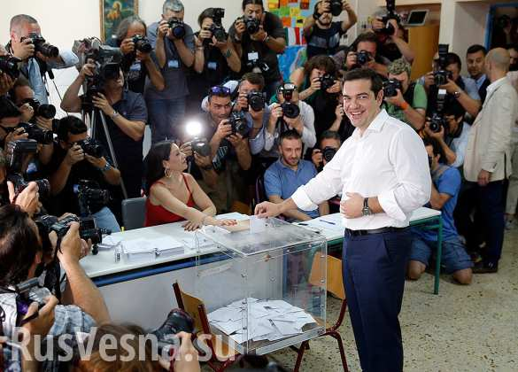 Греческие СМИ: в Греции на завершившемся референдуме побеждают противники соглашения с кредиторами