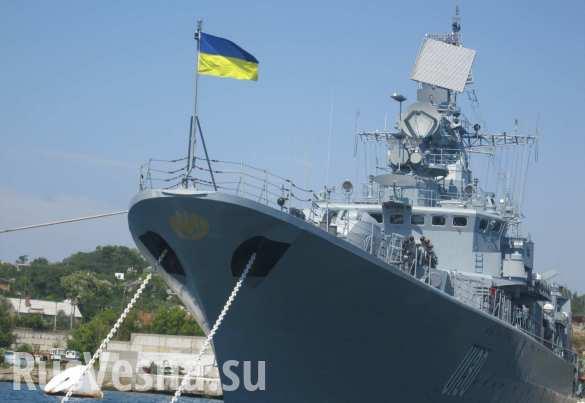 Киев ещё раз выразил надежду на возвращение оставшихся в Крыму кораблей