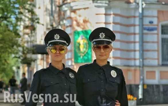 Новые украинские патрульные не смогли оформить ДТП в центре Киева