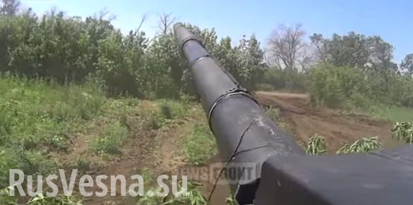 Учебная танковая атака батальона «Дизель» (ВИДЕО)