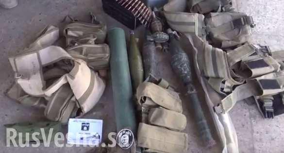 Ирак: блокнот дагестанского снайпера-террориста ИГИЛ (ВИДЕО)