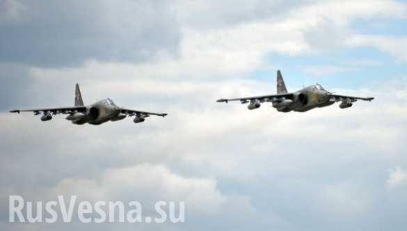 Массированный авиаудар по объектам террористов самолетами Дальней авиации и авиагруппы в Сирии (ВИДЕО)