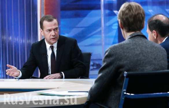 Медведев: блэкаут в Крыму — геноцид со стороны Украины