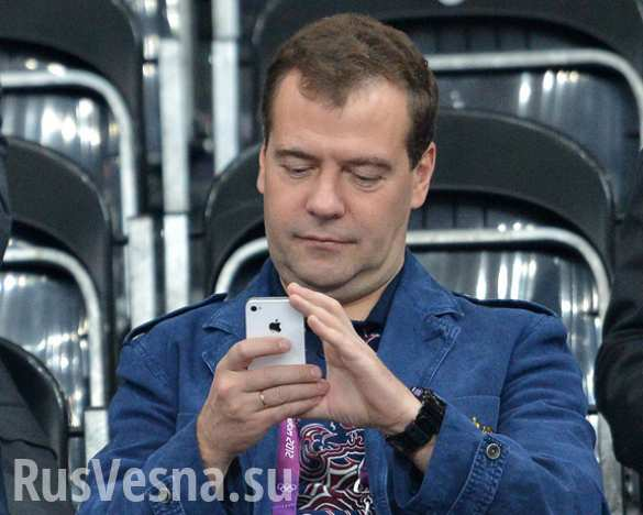 Медведев поздравил Мутко с днем рождения «фром дип оф хиз харт» (ФОТО)