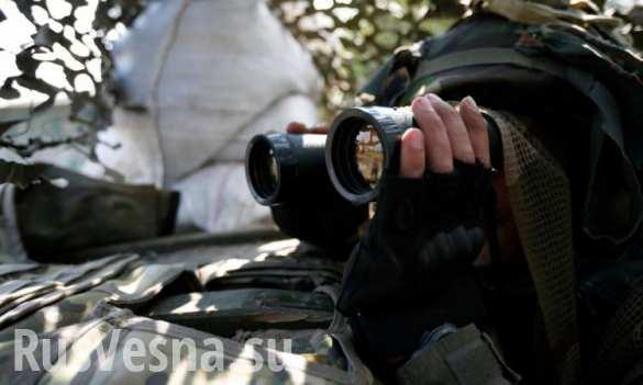 Разведка ДНР выявила замаскированные позиции танков и арторудий ВСУ в 3 км от линии фронта