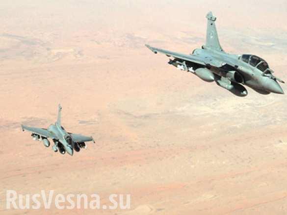 Самолеты западной коалиции были замечены в районе атаки на армию Сирии, — Минобороны РФ