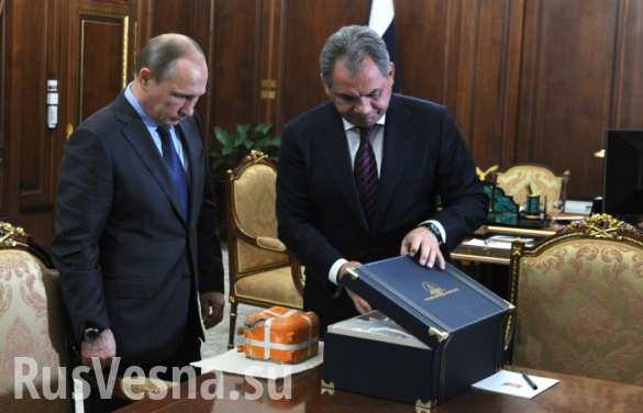 Шойгу представил Путину «черный ящик» сбитого Турцией Су-24