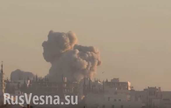 Сирия: после взрыва от террориста остались одни ошметки (ВИДЕО 18 )