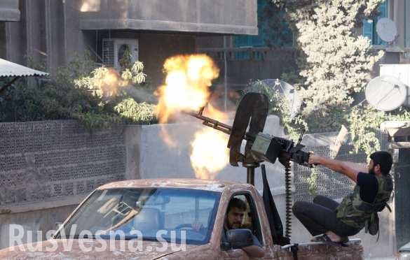 Сводка от «Тимура»: Армия Сирии с боями медленно продвигается, боевики перебрасывают резервы и роют тоннели, в Дамаске готовятся к терактам