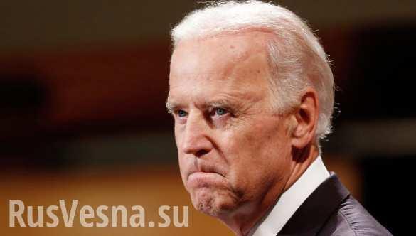 В Киеве на пути следования кортежа Байдена вывесили плакаты с надписью «Biden go home» (ВИДЕО)