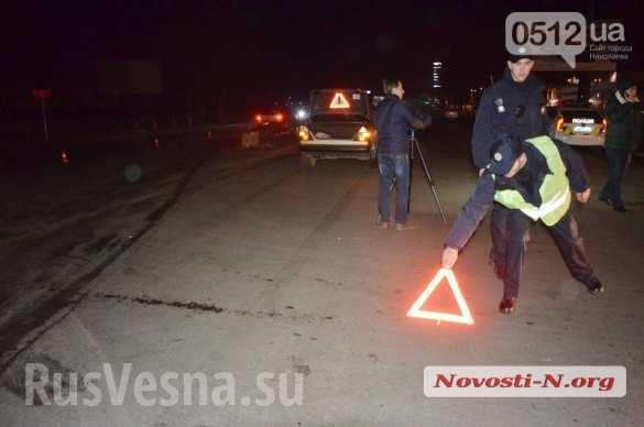 В Николаеве полицейский на «Мерседесе» сбил пешехода: пострадавший в тяжелом состоянии (ФОТО)   Русская весна