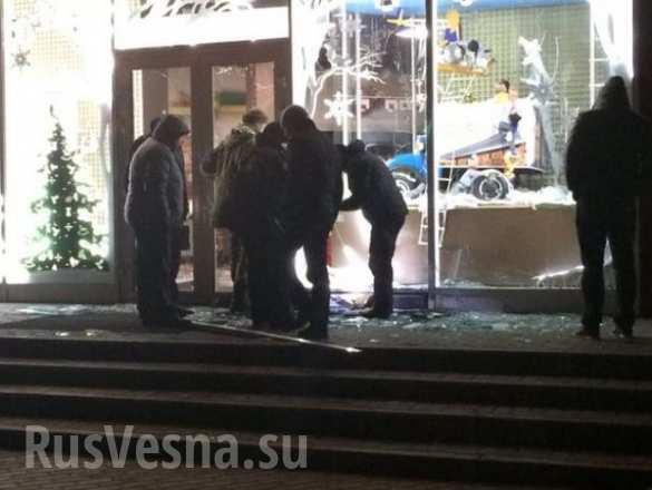 ВАЖНО: Взрыв прогремел в магазине Roshen в Харькове (ФОТО) | Русская весна