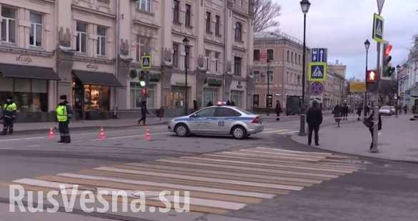 Взрыв на остановке в Москве мог быть покушением на бизнесмена