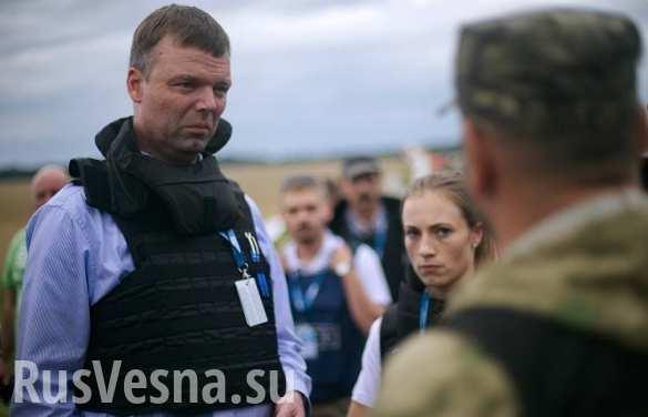 Замглавы миссии ОБСЕ Хуг прибыл с инспекцией в Горловку