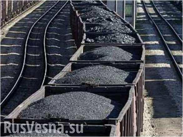 Донбасс возобновил поставки угля на Украину