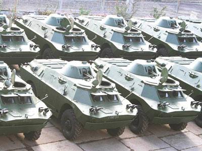 Новая партия бронемашин для ВСУ от Николаевского бронетанкового завода