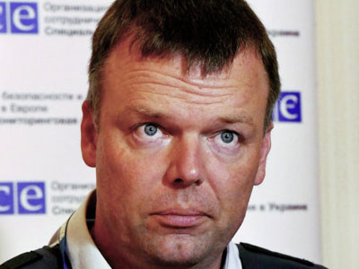 Новый офис наблюдательной миссии ОБСЕ в Горловке будет открыт для всех