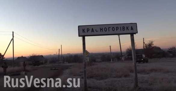 СБУ «зачищает» Красногоровку (ВИДЕО)