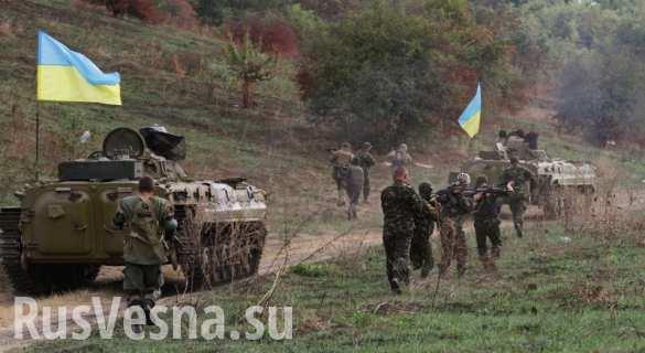 Ситуация напряженная: ВСУ перебрасывают «Пионы», танки, САУ и «Грады» к линии соприкосновения, — разведка ЛНР