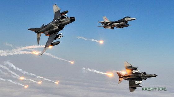 Турция нанесла авиаудар по приграничной зоне Ирака