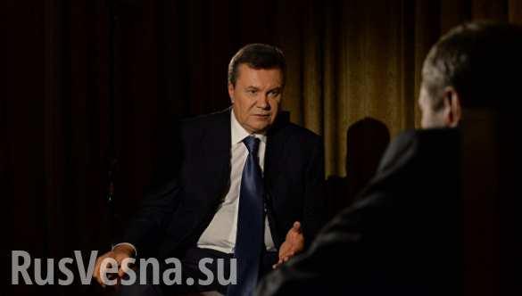 В расстреле на Майдане виновны Турчинов, Парубий и Пашинский, — вторая часть интервью Януковича