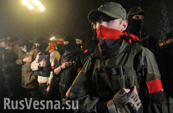Кировоградский Апелляционный суд окружили около сотни боевиков «Правого сектора»